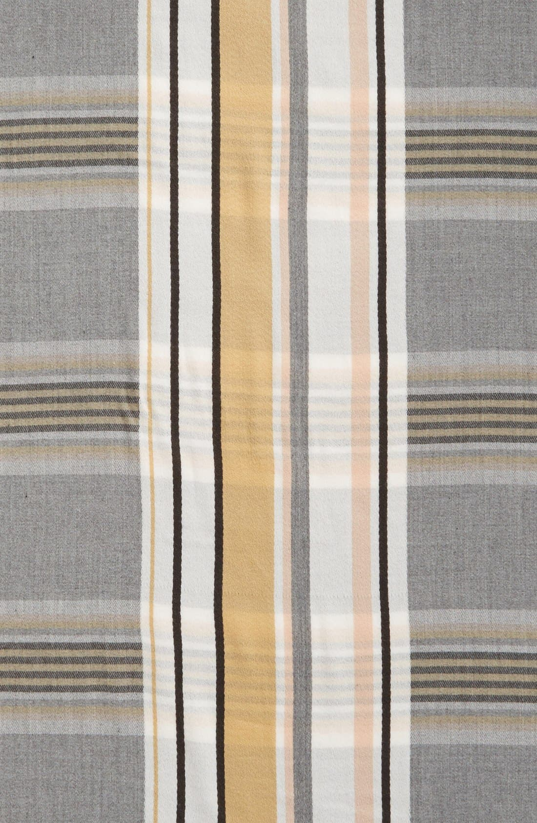 Alternate Image 4  - BP. Stripe Plaid Scarf