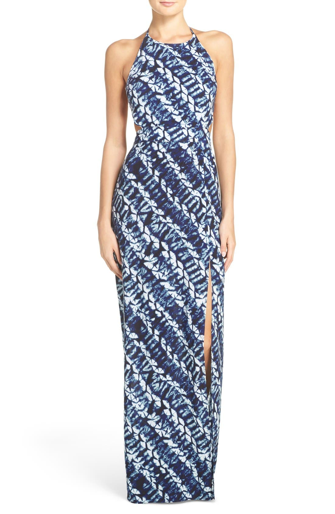 Alternate Image 1 Selected - Dolce Vita Tie-Dye Cover-Up Maxi Dress