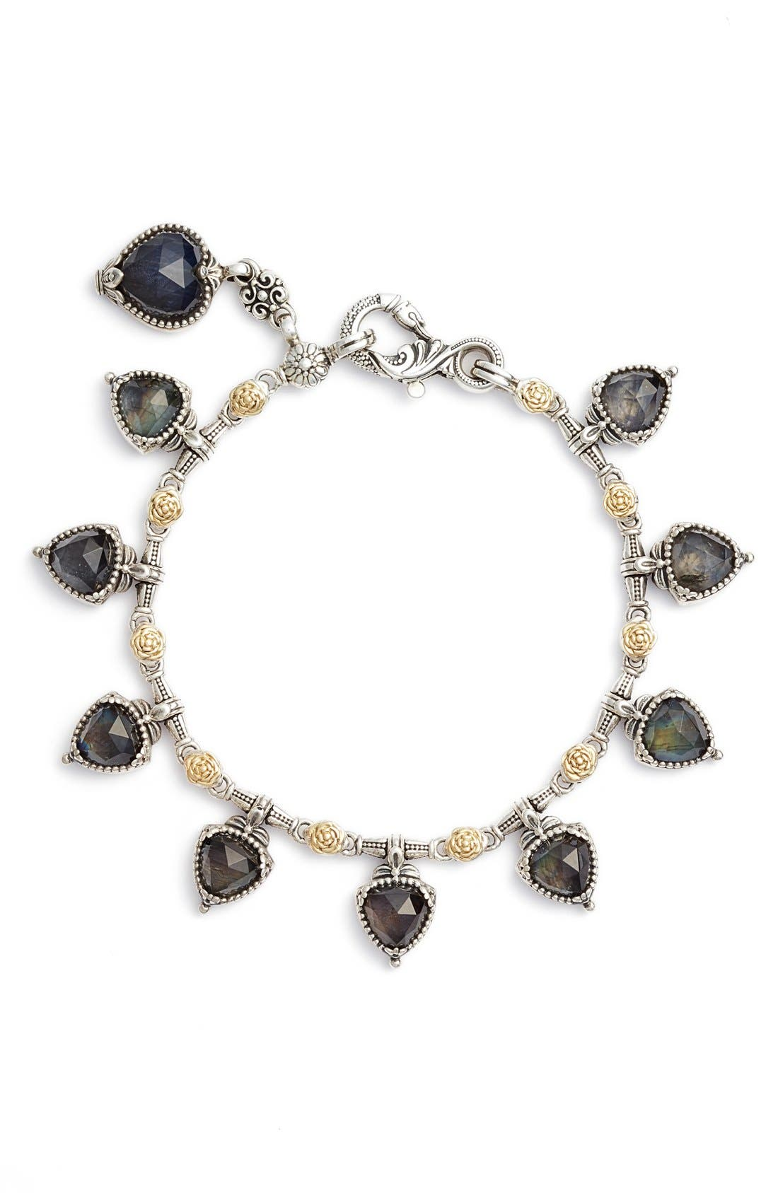 KONSTANTINO Cassiopeia Dangling Semiprecious Stone Bracelet