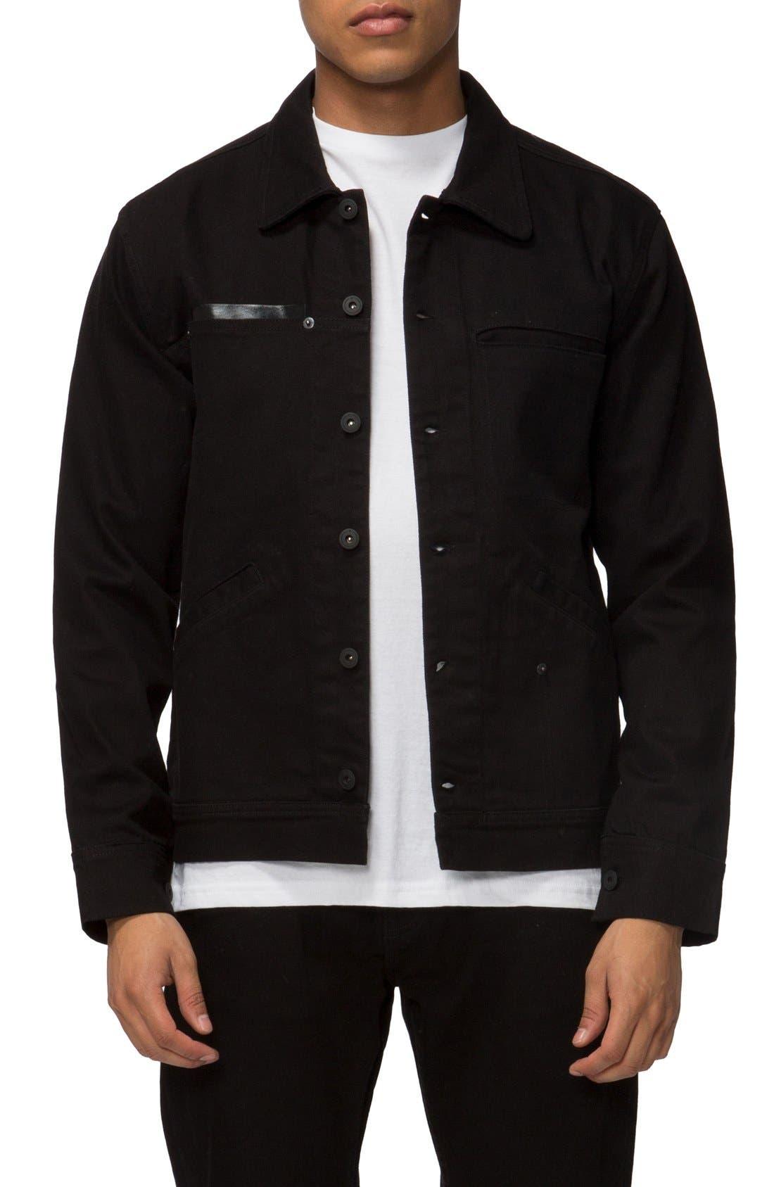 TAVIK 'Sutter' Denim Work Jacket