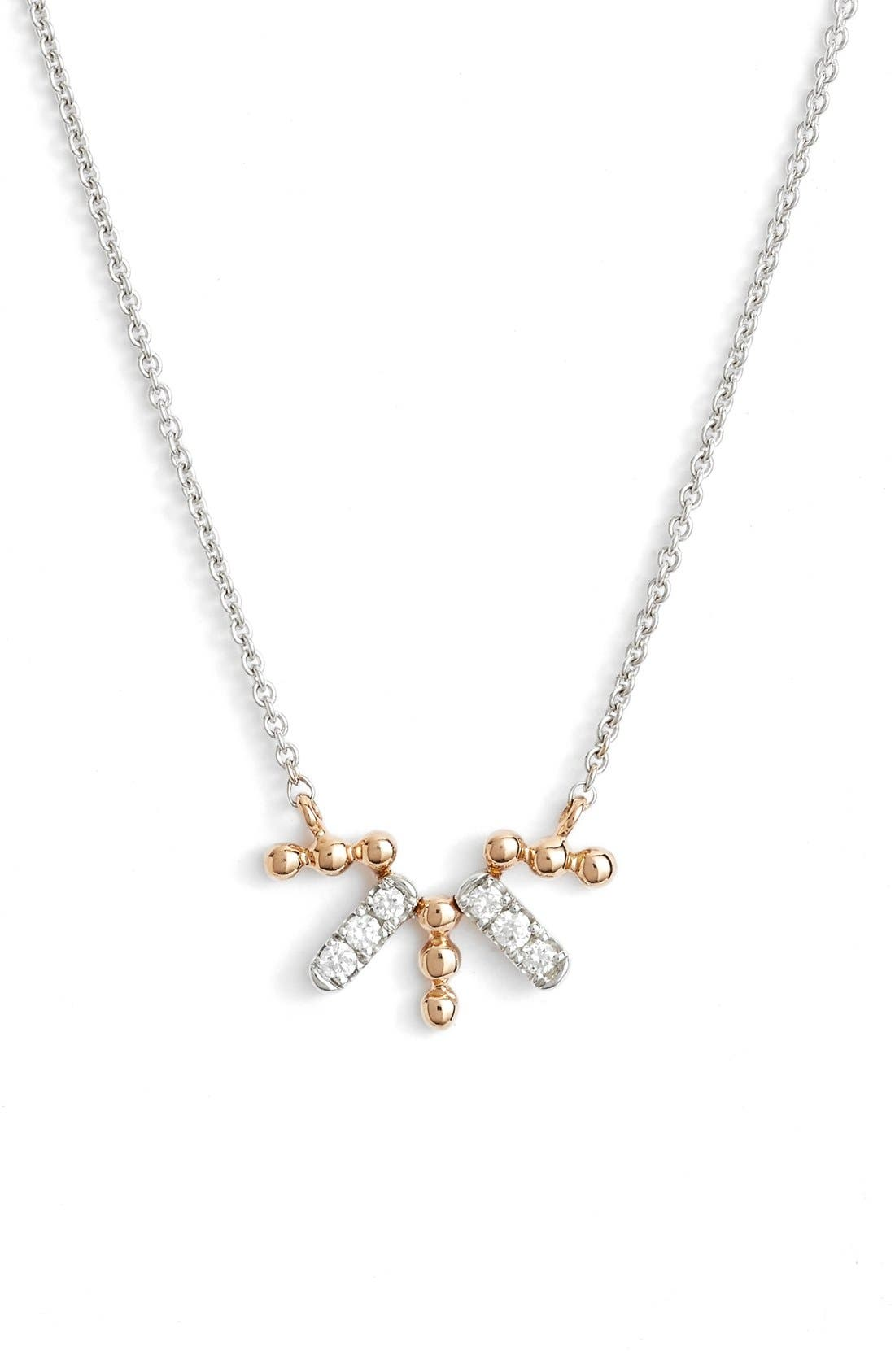 DANA REBECCA DESIGNS Poppy Rae Duo Diamond Pendant