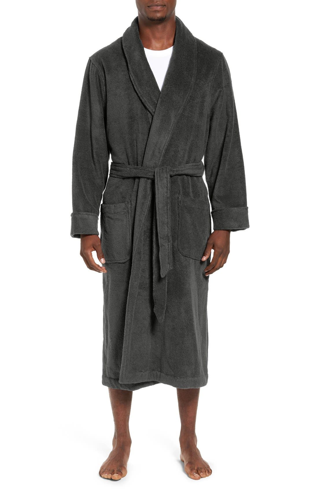 Alternate Image 1 Selected - Nordstrom Hydro Cotton Terry Robe