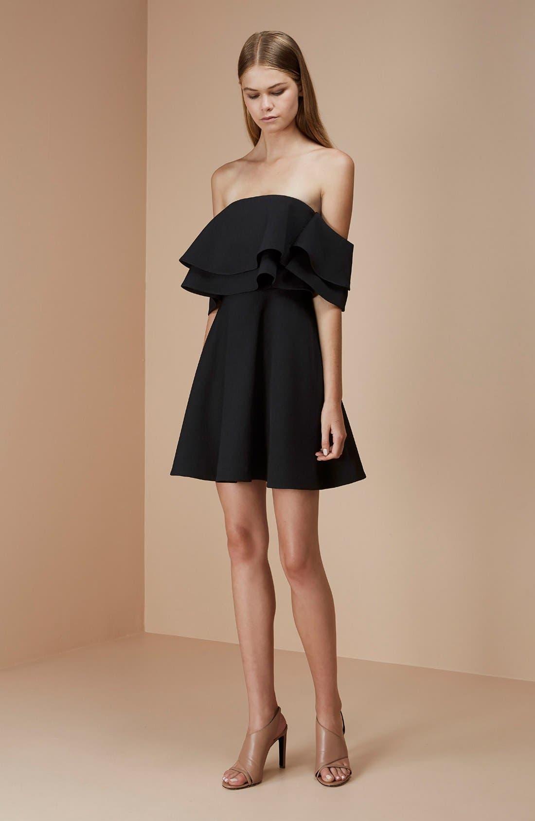 Alternate Image 2  - Keepsake the Label 'Two Fold' Off the Shoulder Minidress