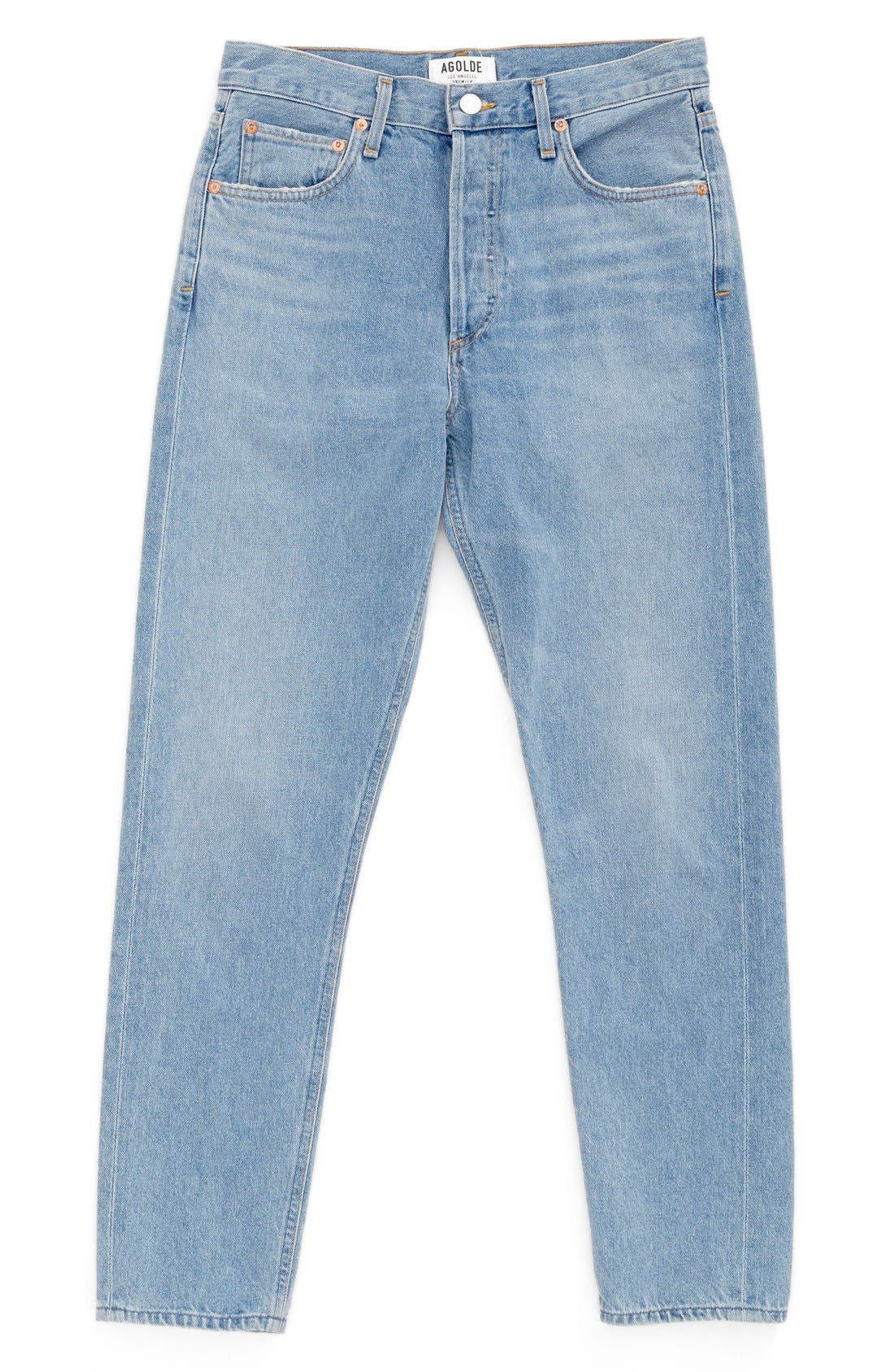 Alternate Image 1 Selected - AGOLDE Jamie High Rise Classic Jeans (Women)