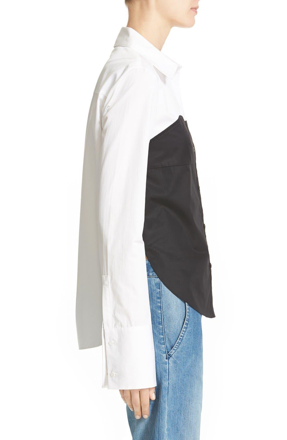 Alternate Image 3  - Tibi Bustier Shirt