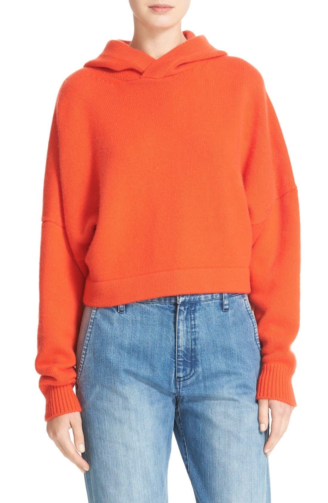 TIBI Cashmere Hoodie Sweatshirt