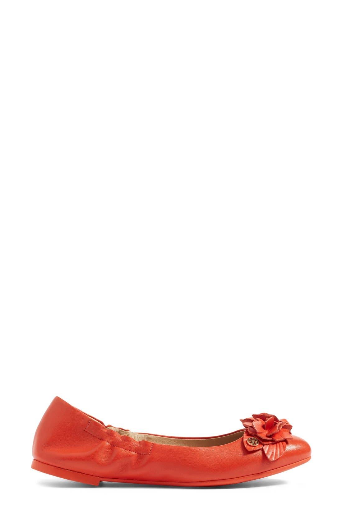 Alternate Image 4  - Tory Burch 'Blossom' Ballet Flat (Women)