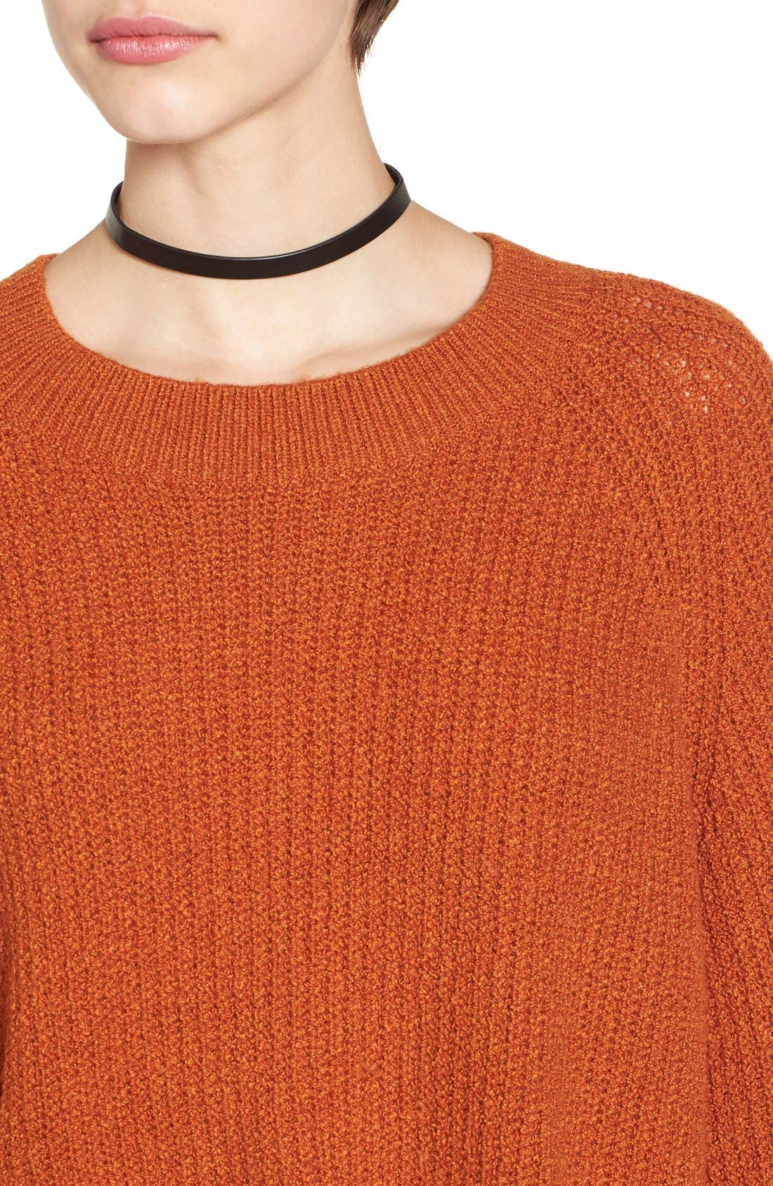 Alternate Image 4  - BP. Knit Bell Sleeve Pullover