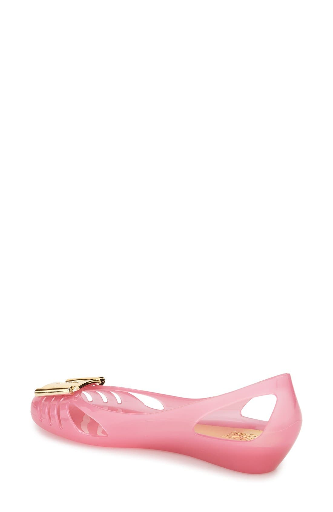 Alternate Image 2  - Salvatore Ferragamo Bermuda Cutout Wedge Sandal (Women)