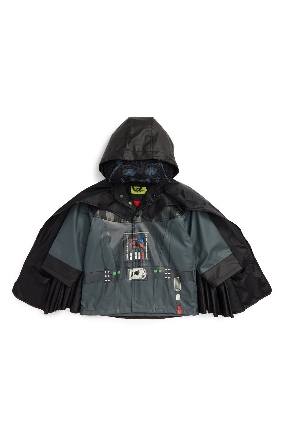 Western Chief Star Wars™ - Darth Vader Raincoat (Toddler Boys & Little Boys)