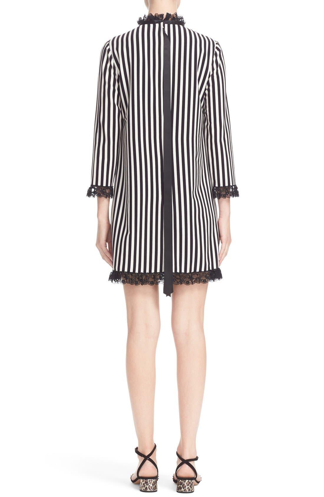Alternate Image 2  - MARC JACOBS Stripe Crepe Babydoll Dress