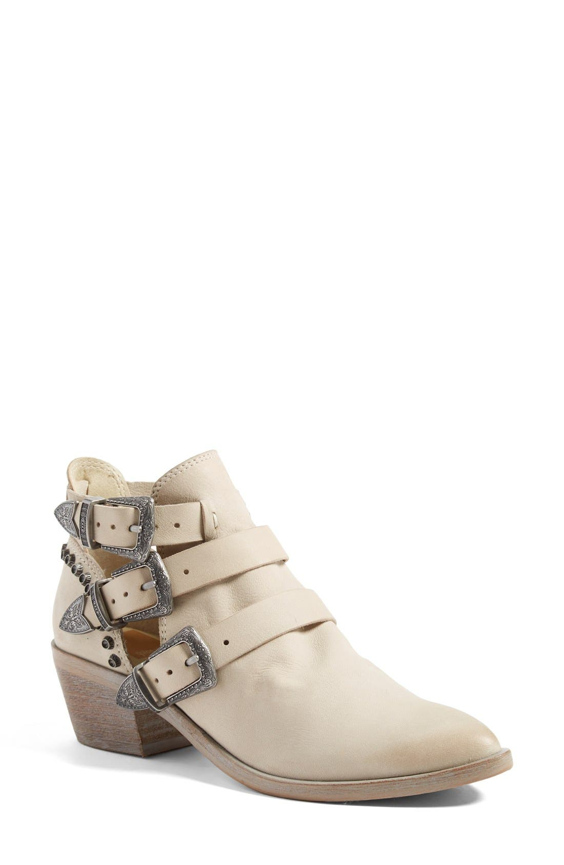 Alternate Image 1 Selected - Dolce Vita 'Spur' Buckle Strap Bootie (Women)
