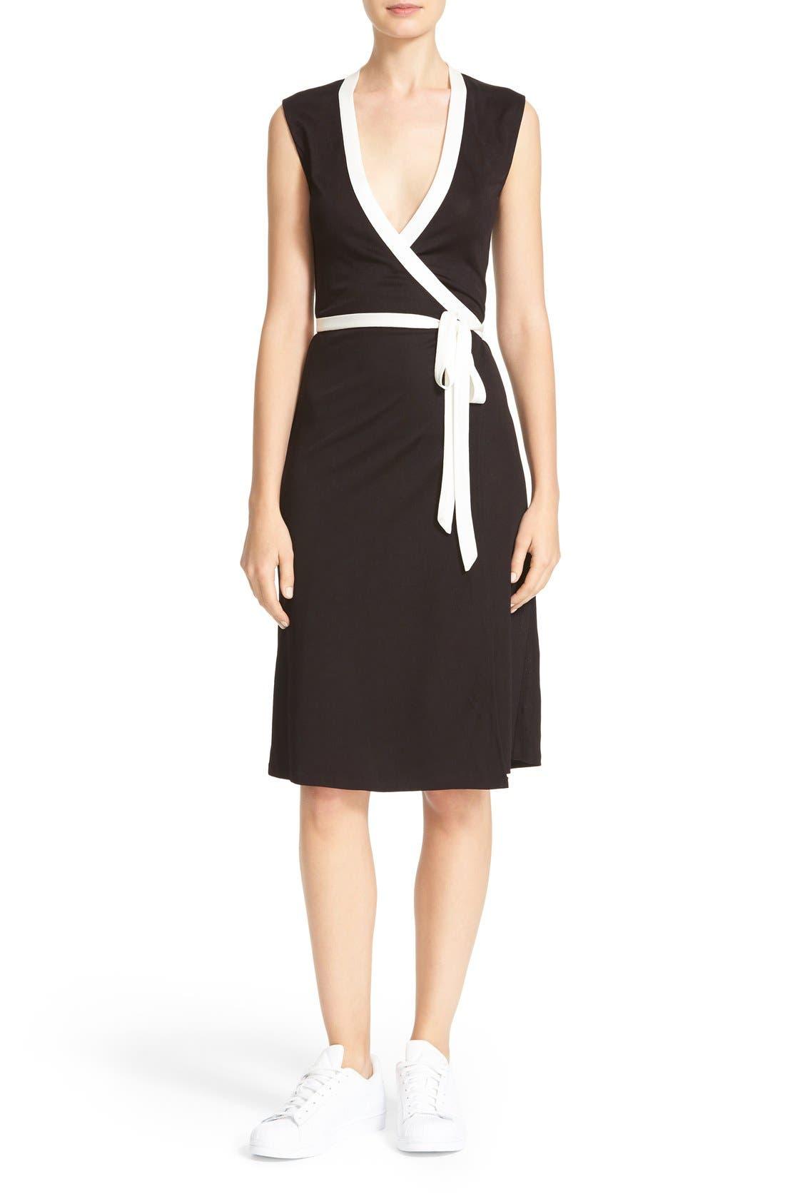 Alternate Image 1 Selected - Diane von Furstenberg Valena Wrap Dress