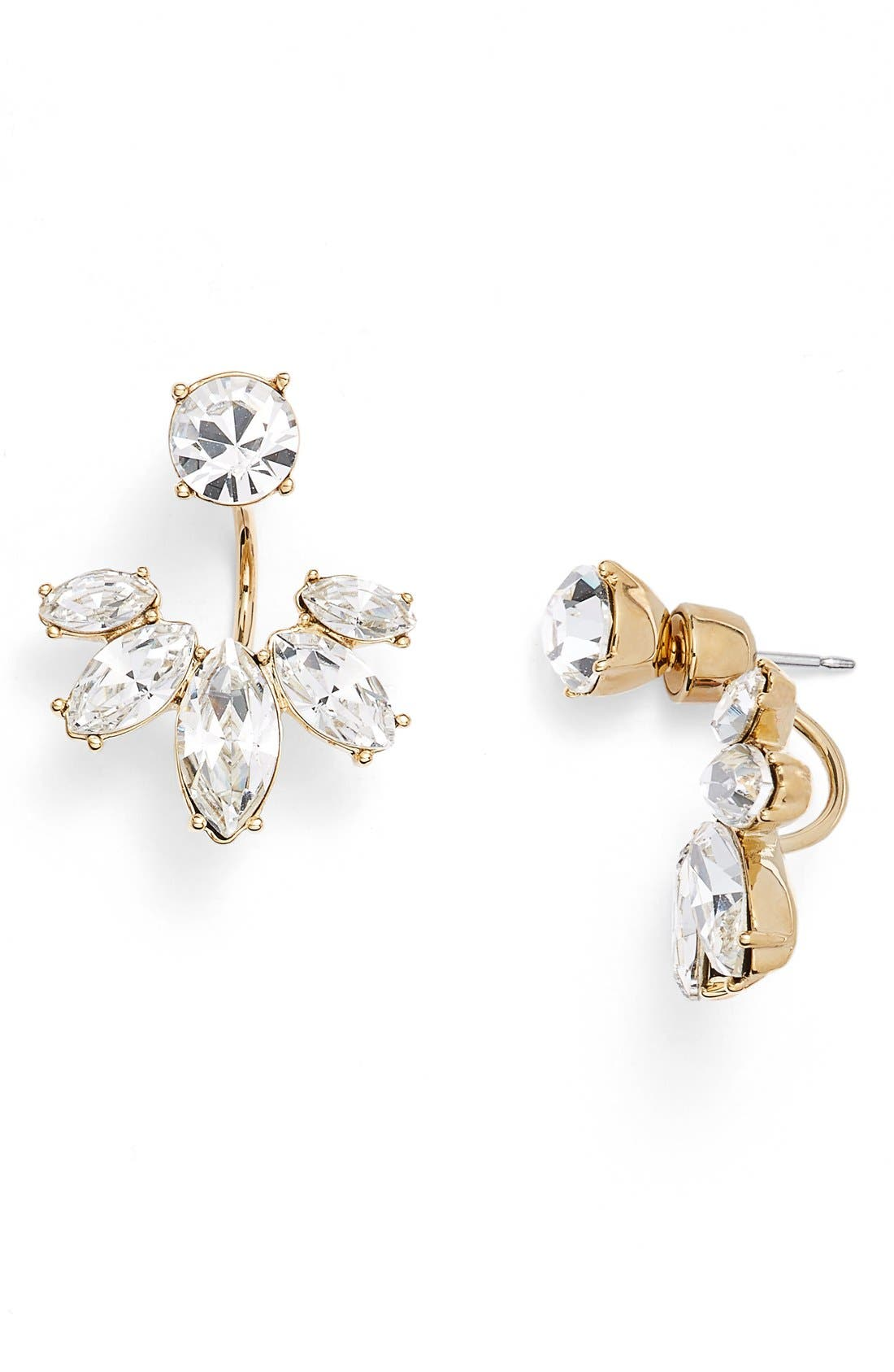 Alternate Image 1 Selected - Marchesa Marquise Crystal Ear Jackets