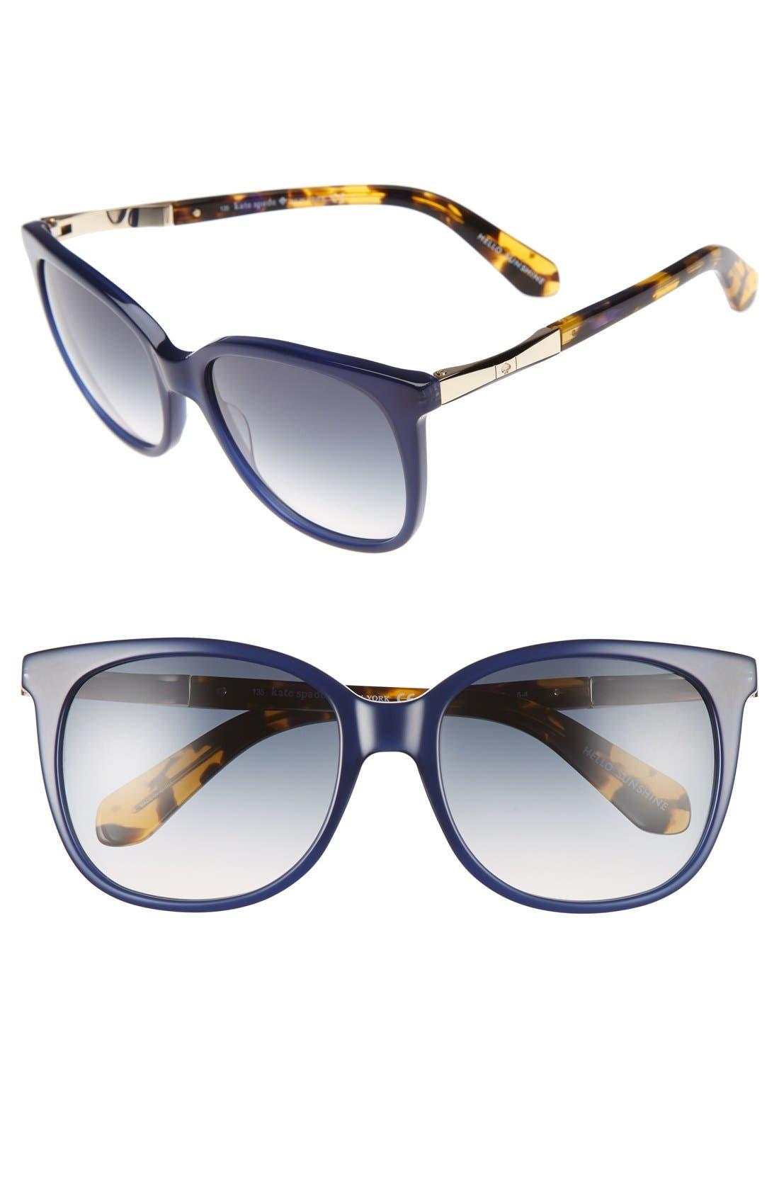 kate spade new york julieanna 54mm sunglasses