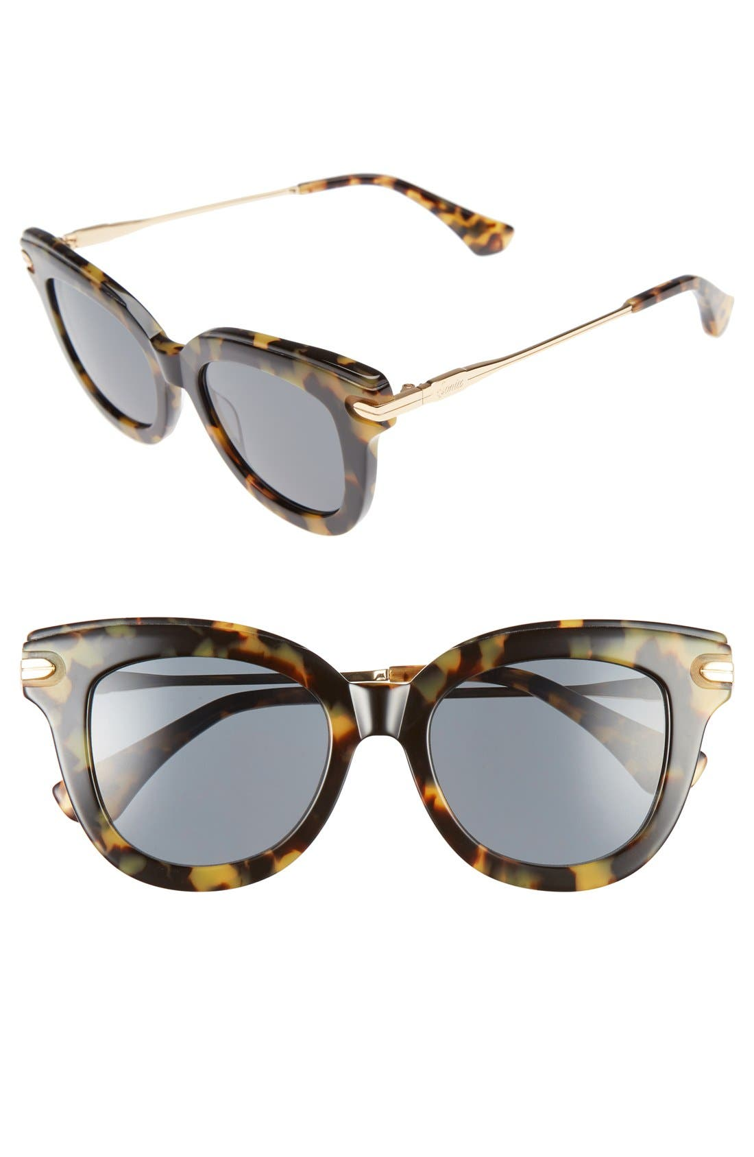 Sonix Elliot 48mm Cat Eye Gradient Sunglasses