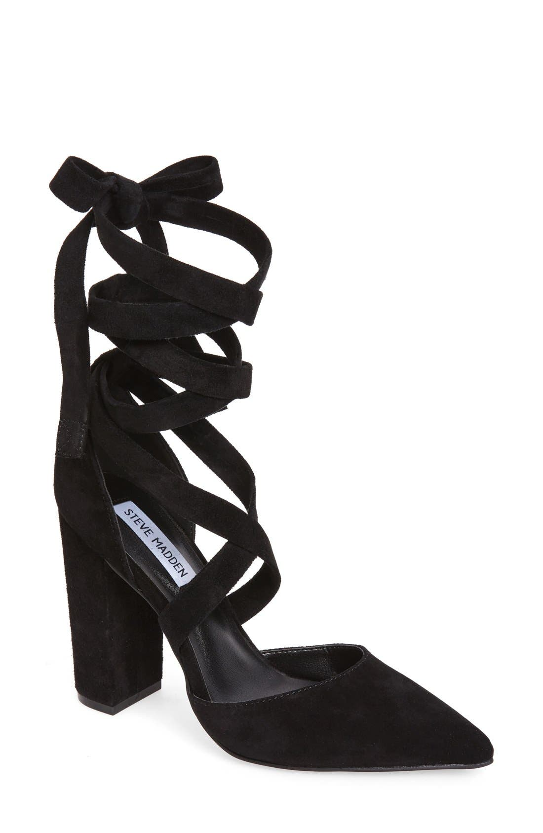 Alternate Image 1 Selected - Steve Madden Bryony Lace-Up Pump (Women)