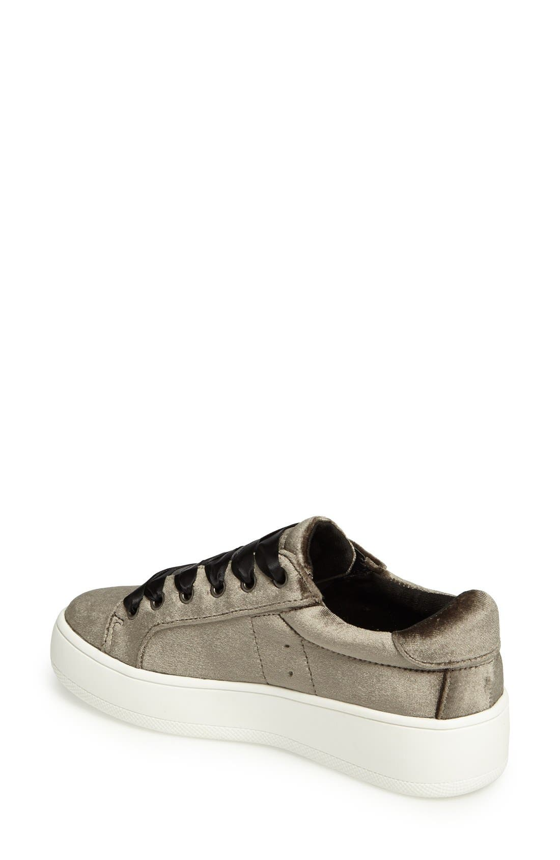 Alternate Image 2  - Steve Madden Bertie-V Platform Sneaker (Women)