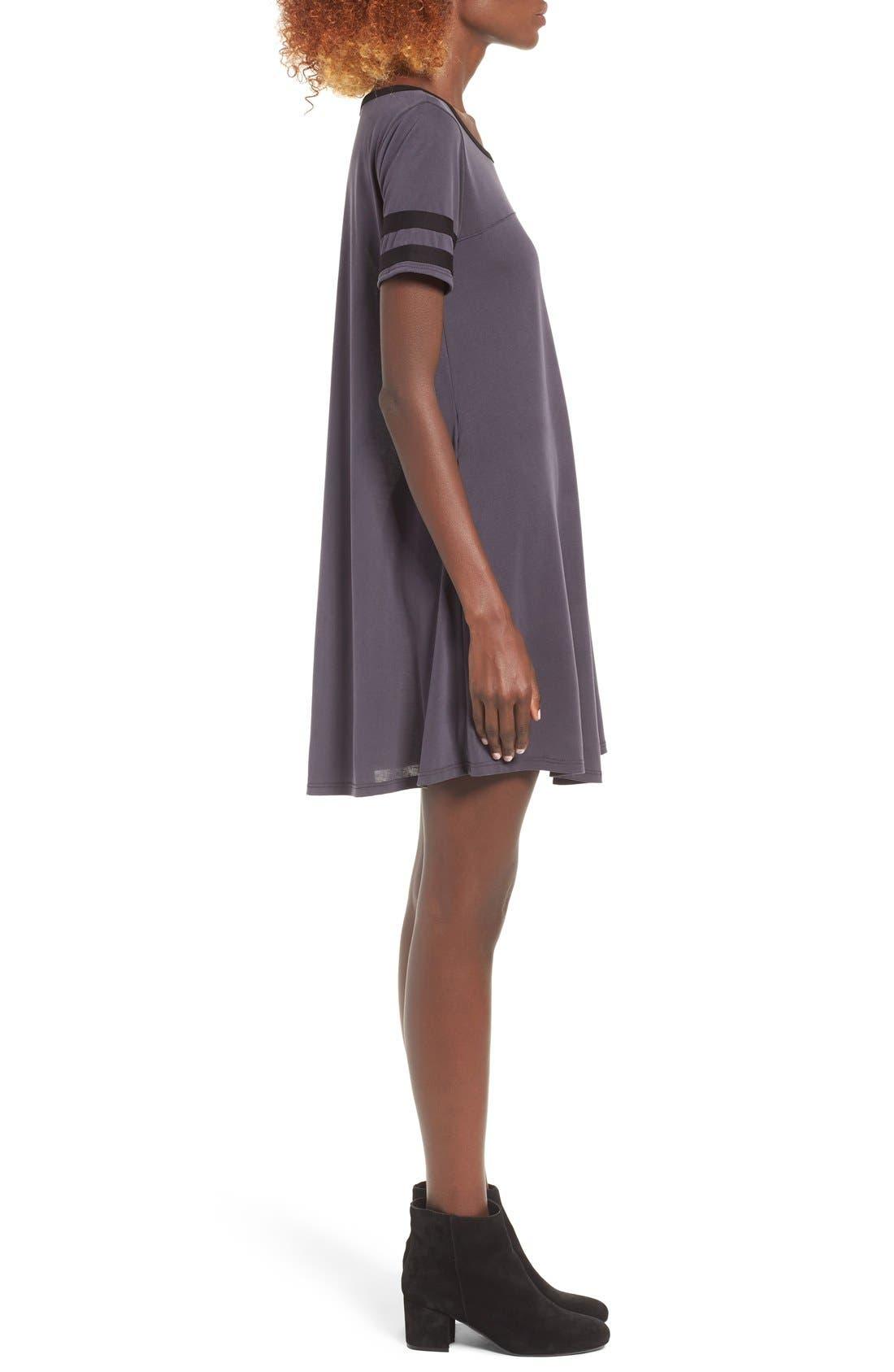 Alternate Image 4  - Socialite Varsity T-Shirt Dress