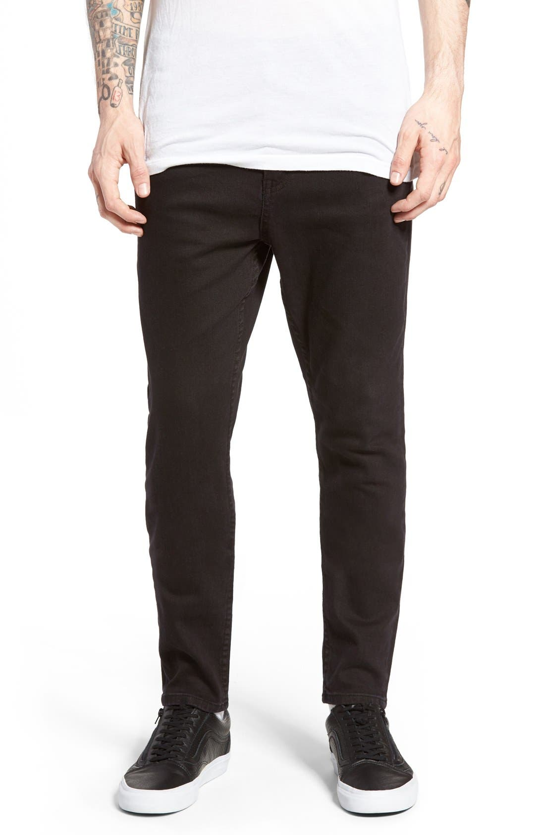 CHEAP MONDAY Dropped Skinny Fit Jeans