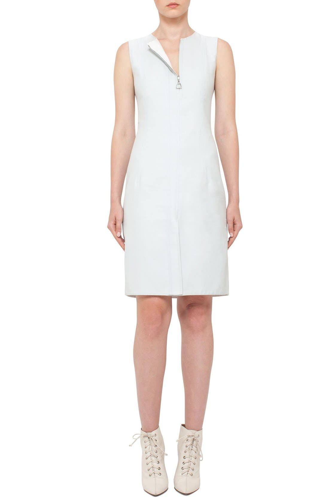 AKRIS Double Face Bicolor Reversible Dress