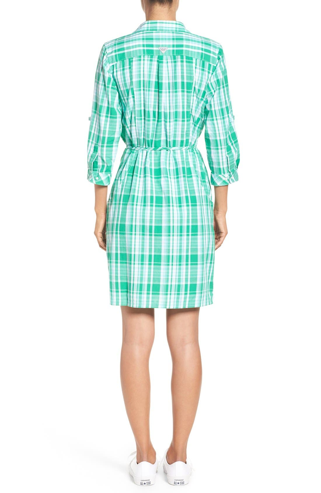 Alternate Image 2  - Columbia 'Super Bonehead' Cotton Shirtdress