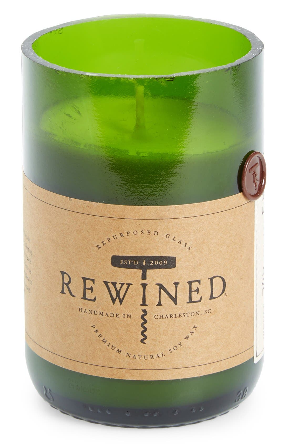 Main Image - Rewined Soy Wax Wine Bottle Candle