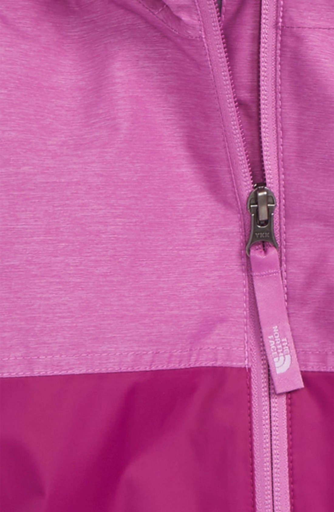Alternate Image 2  - The North Face 'Warm Storm' Hooded Waterproof Jacket (Baby Girls)