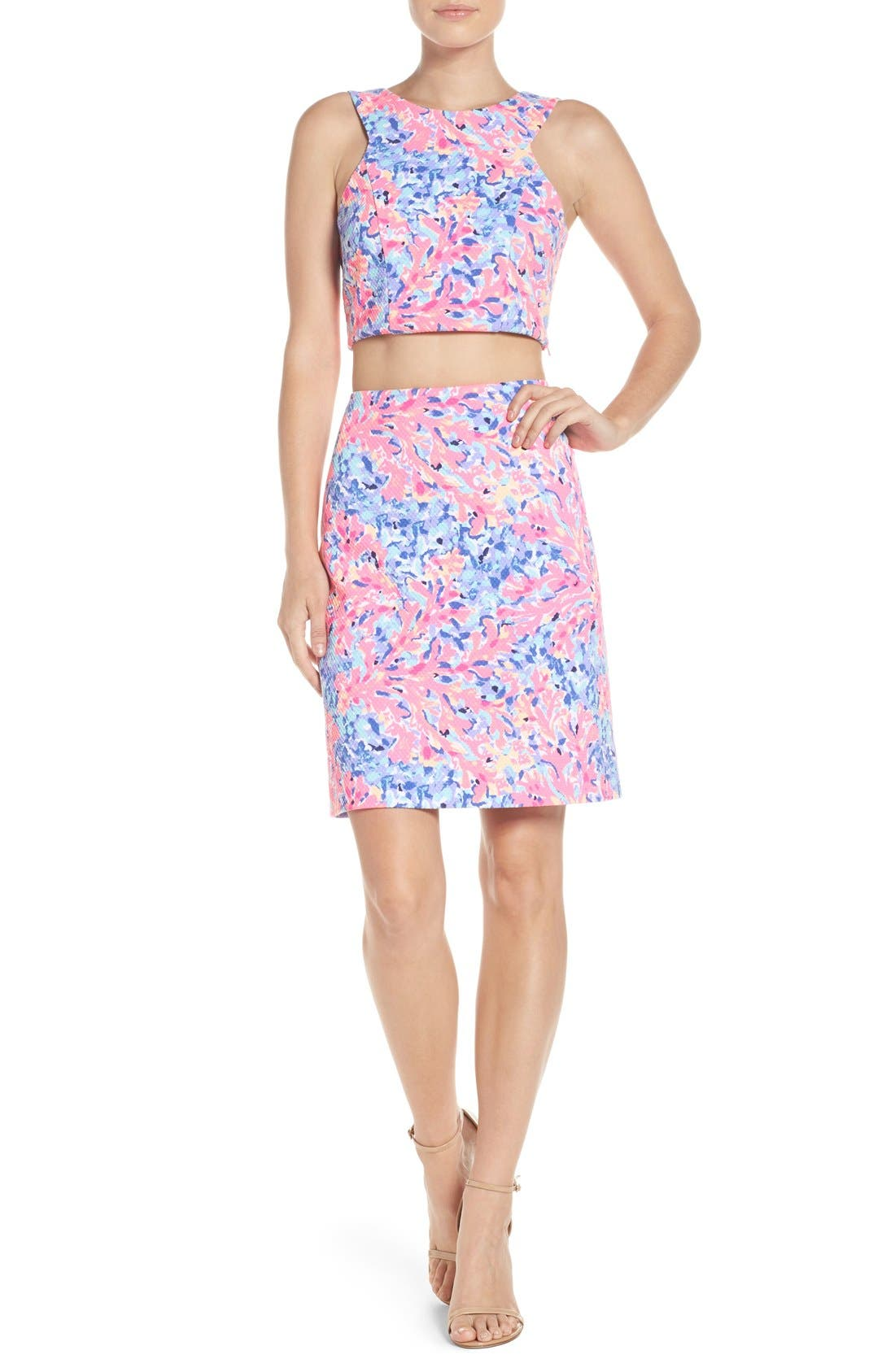 Alternate Image 2  - Lilly Pulitzer® Mallika Two-Piece Dress