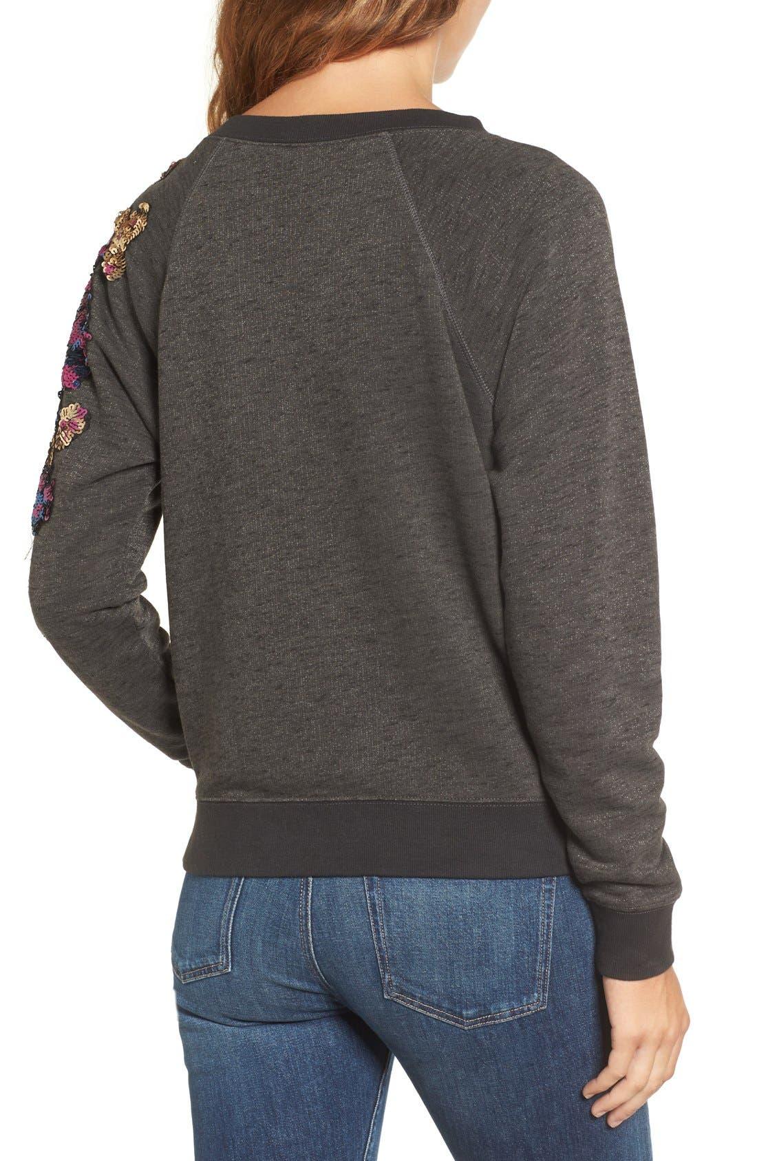 Alternate Image 2  - Rebecca Minkoff Sequin Sweatshirt