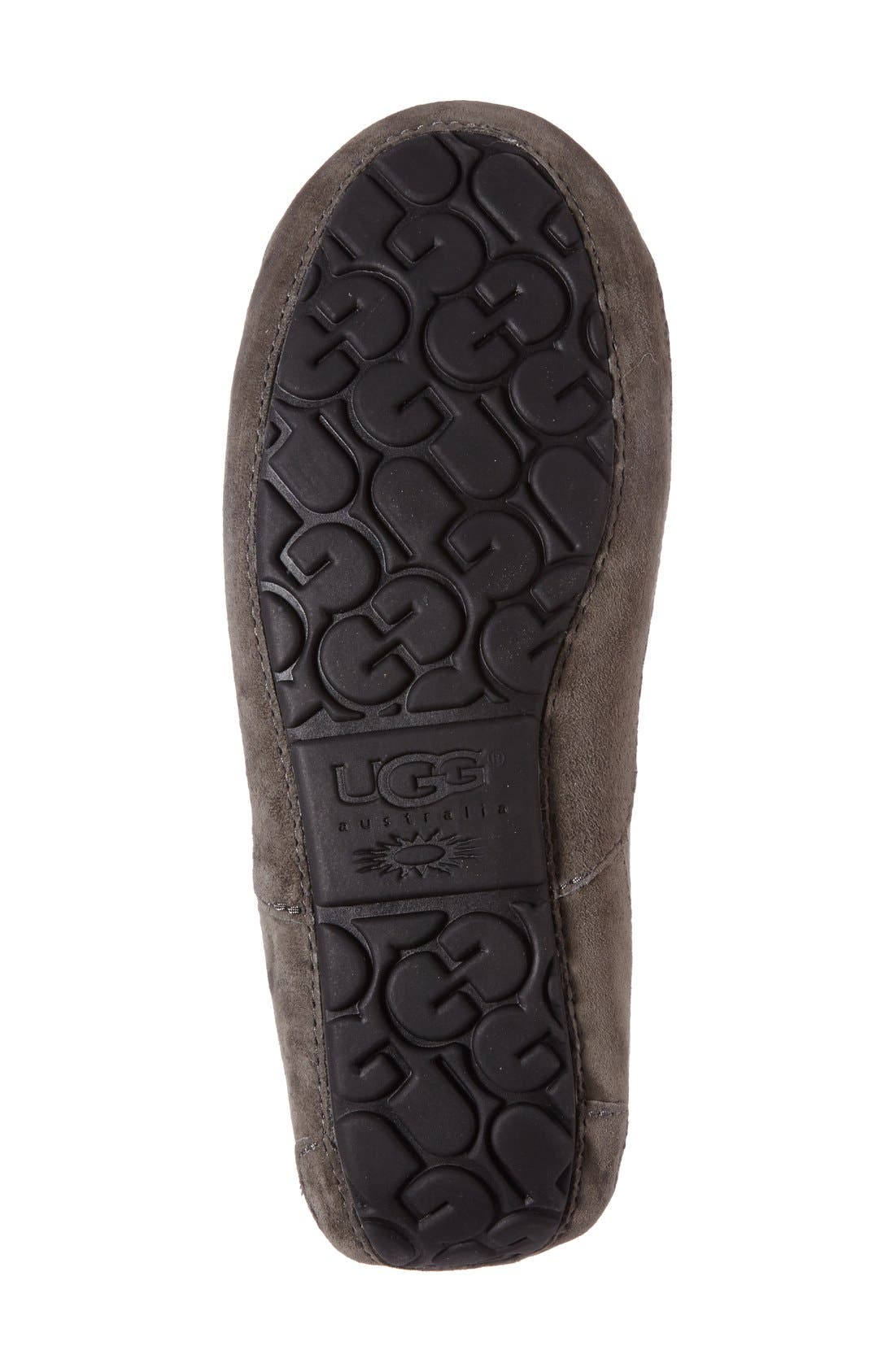 Alternate Image 4  - UGG® Ascot Suede Slipper (Men)