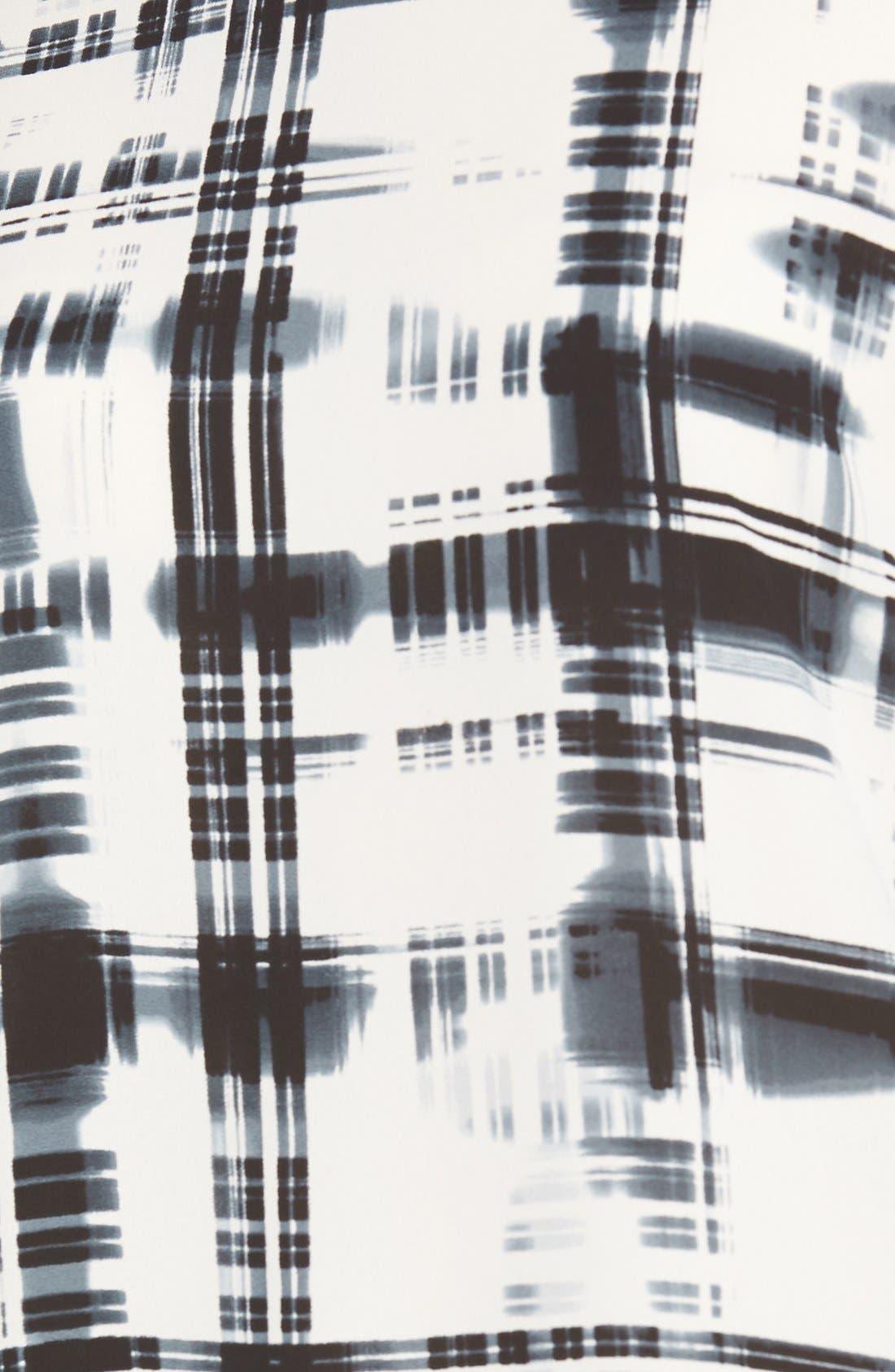 Alternate Image 5  - Pleione Bateau Neck Long Sleeve Blouse