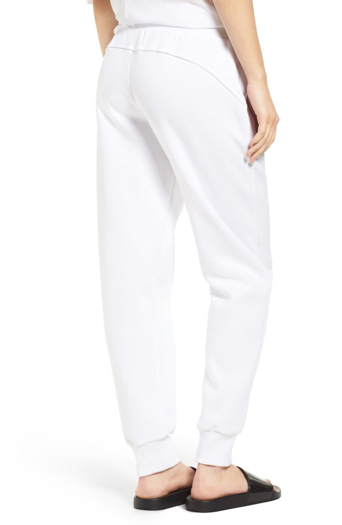 Alternate Image 2  - IVY PARK® Chenille Logo Jogger Pants