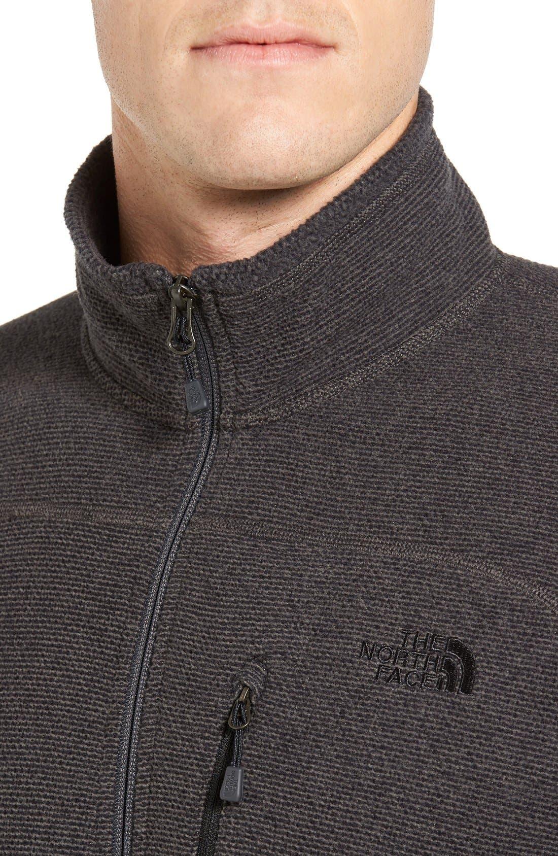 Alternate Image 4  - The North Face 'Texture Cap Rock' Fleece Jacket