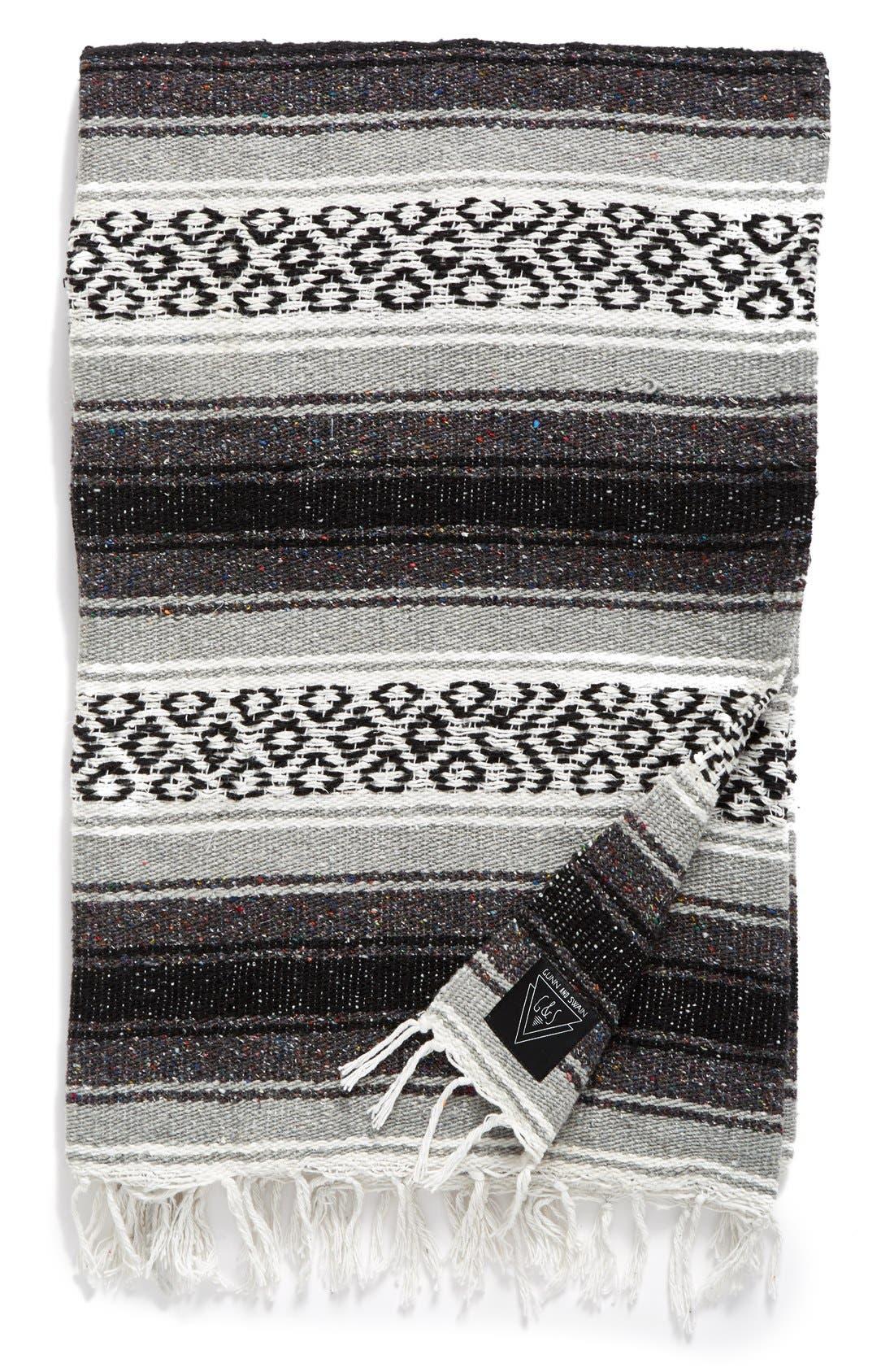 Alternate Image 1 Selected - Gunn & Swain Whitecap Throw