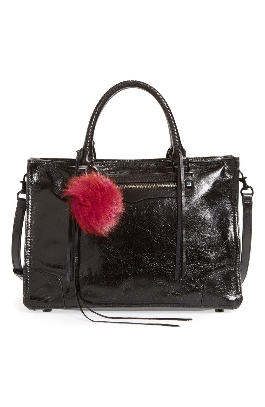 Alternate Image 2  - Rebecca Minkoff Genuine Fox Fur Pom Bag Charm