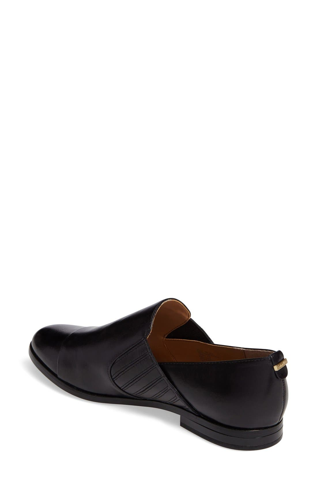 Alternate Image 2  - Calvin Klein Cella Slip-On Loafer (Women)
