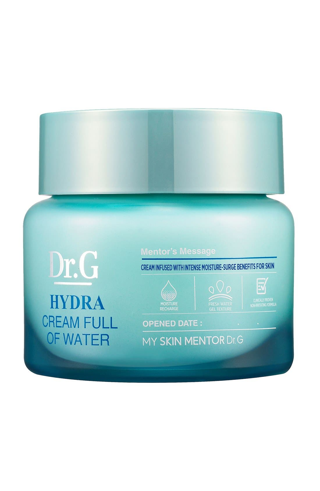 My Skin Mentor Dr. G Beauty Hydra Cream Full of Water (Nordstrom Exclusive)