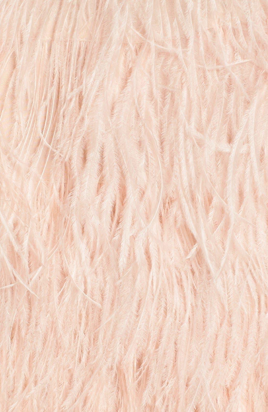 Alternate Image 5  - Olivia Palermo + Chelsea28 Genuine Ostrich Feather Tank