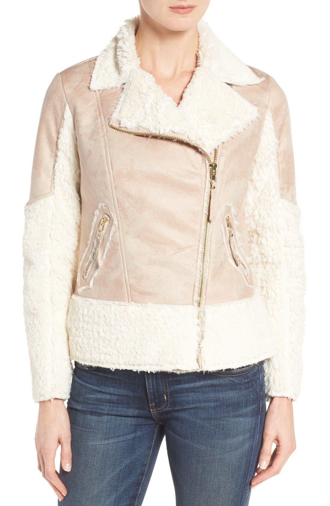 Alternate Image 3  - KUT from the Kloth Baylee Faux Shearling Jacket