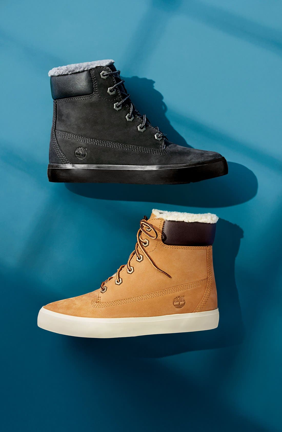 Alternate Image 5  - Timberland Flannery Hidden Wedge Boot with Faux Fur Lining (Women)