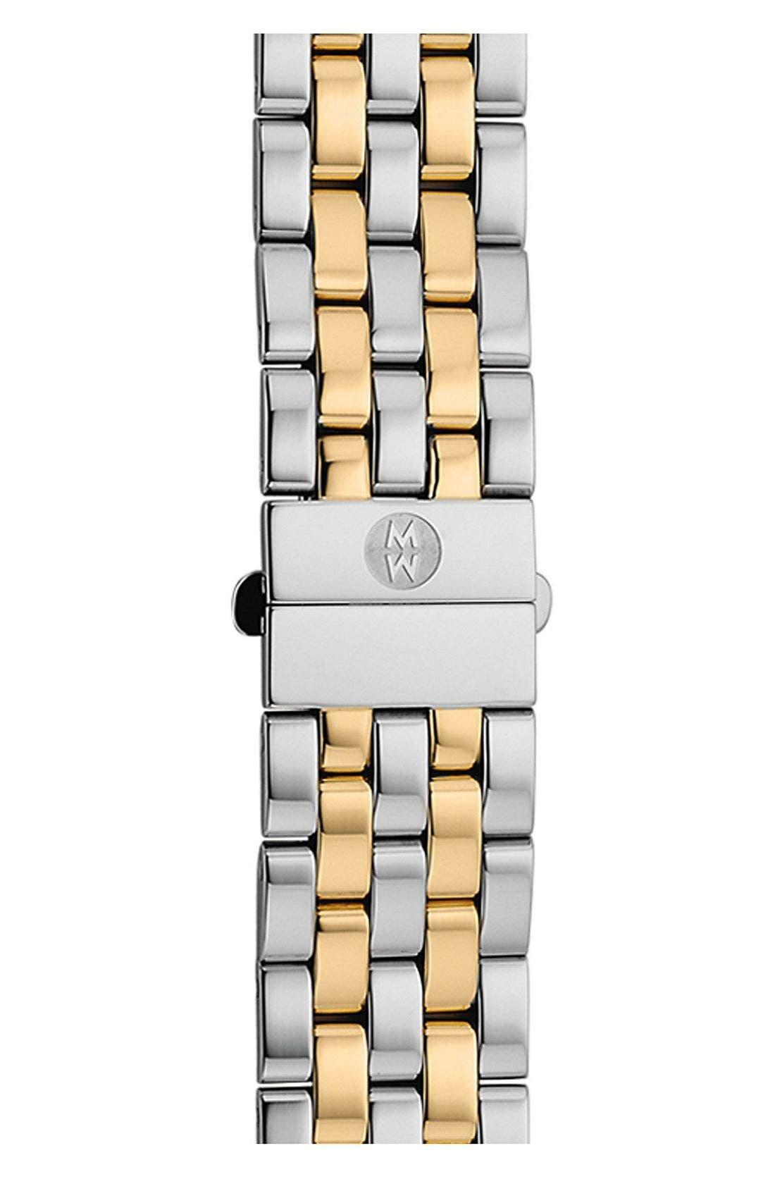 Alternate Image 1 Selected - MICHELE Urban Mini 16mm Two-Tone Bracelet Watchband
