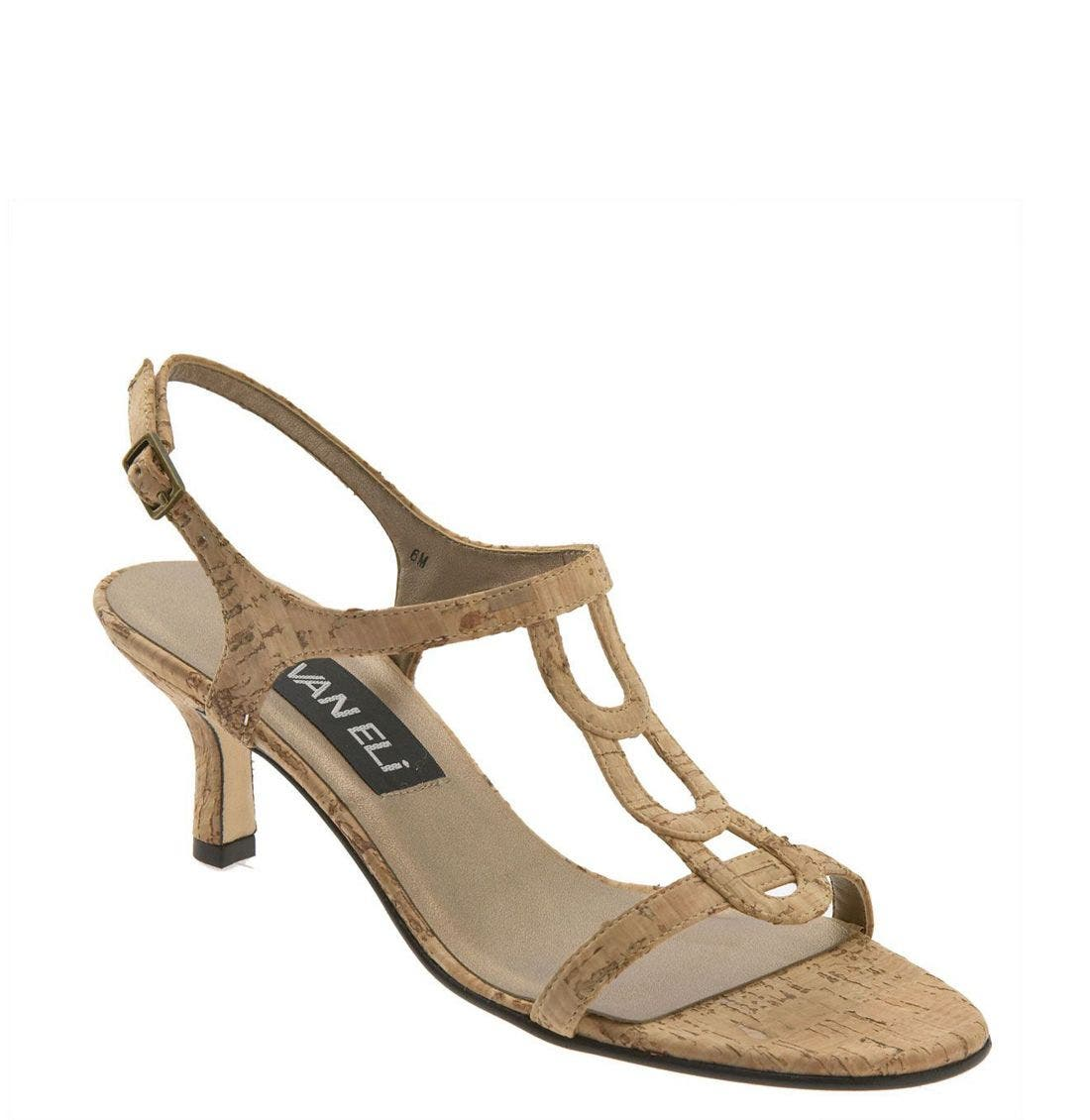 Alternate Image 1 Selected - VANELi 'Mirelys' Cork Sandal