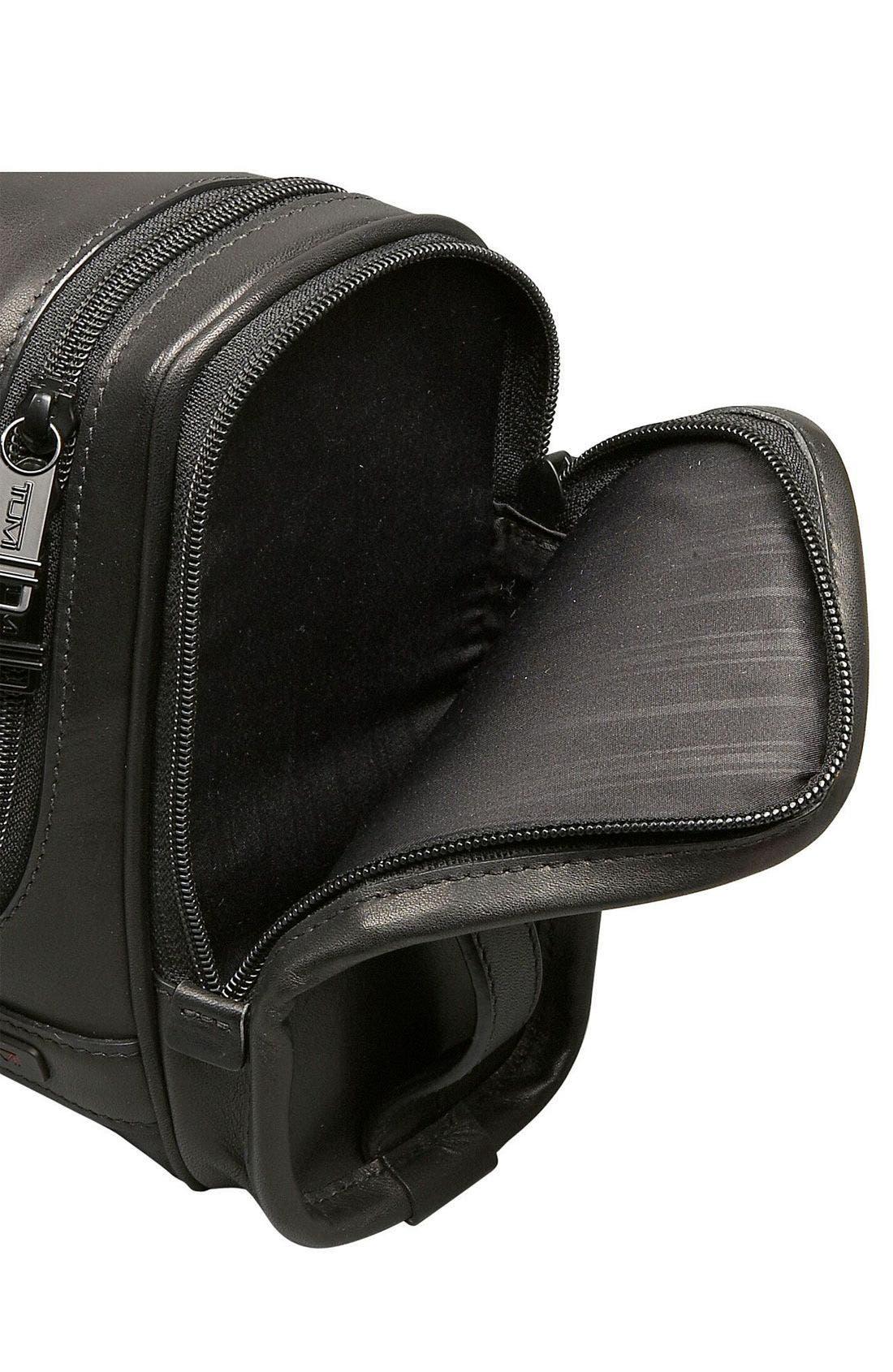 Alternate Image 3  - Tumi 'Alpha' Hanging Leather Travel Kit