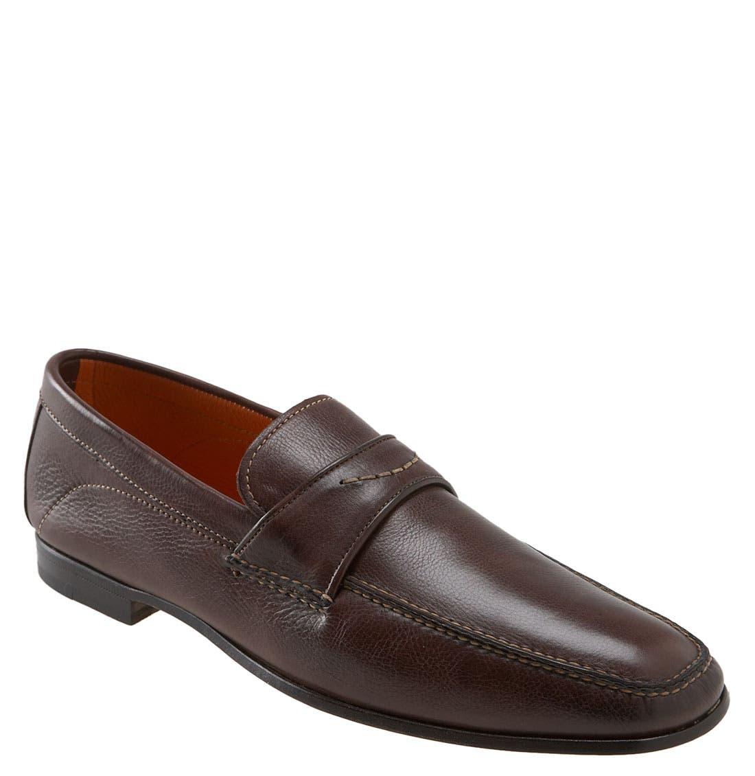 Alternate Image 1 Selected - Santoni 'Jericho' Slip-On