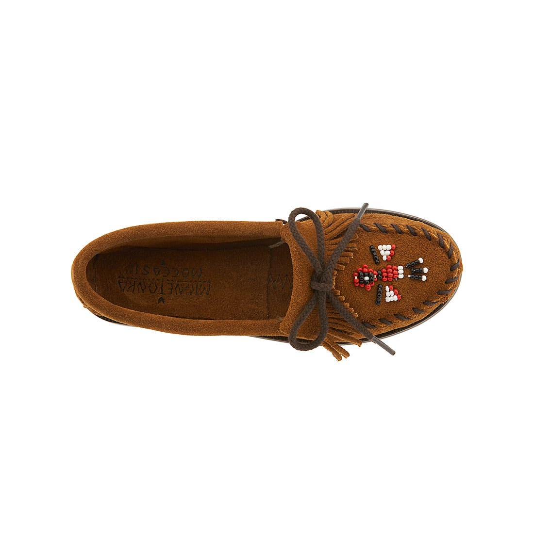 Alternate Image 3  - Minnetonka 'Thunderbird' Moccasin (Toddler, Little Kid & Big Kid)