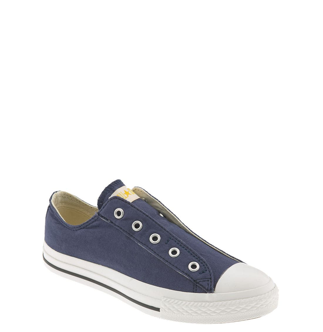 Alternate Image 1 Selected - Converse Chuck Taylor® 'Frayless' Slip-On (Toddler & Little Kid)