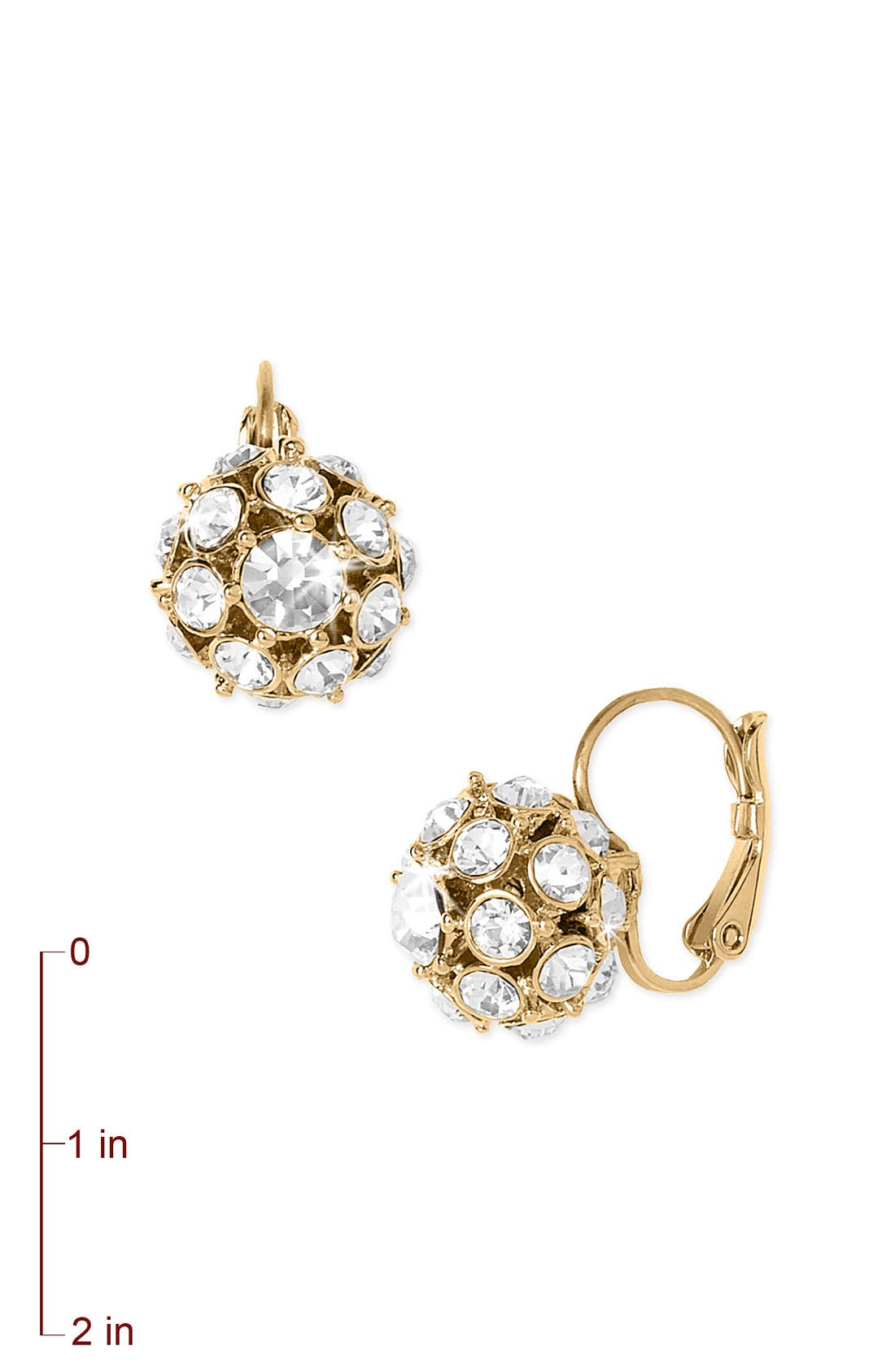 Alternate Image 2  - kate spade new york ball cluster earrings