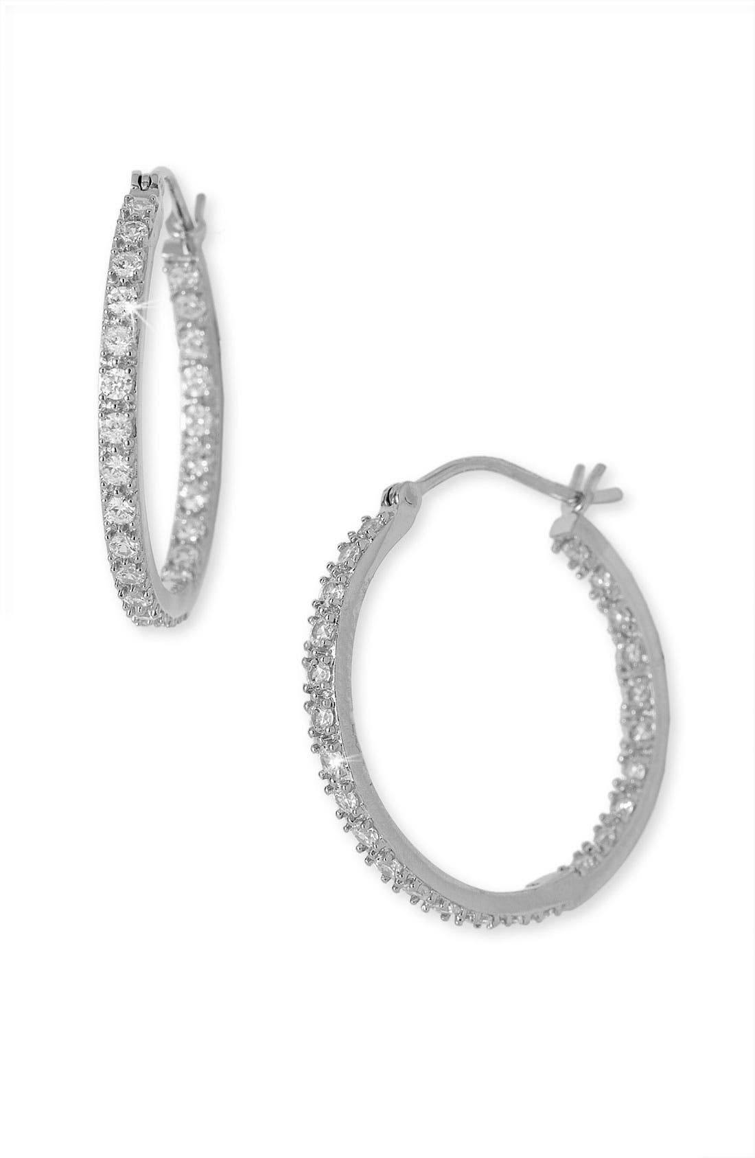 Alternate Image 1 Selected - Nordstrom Hoop Earrings