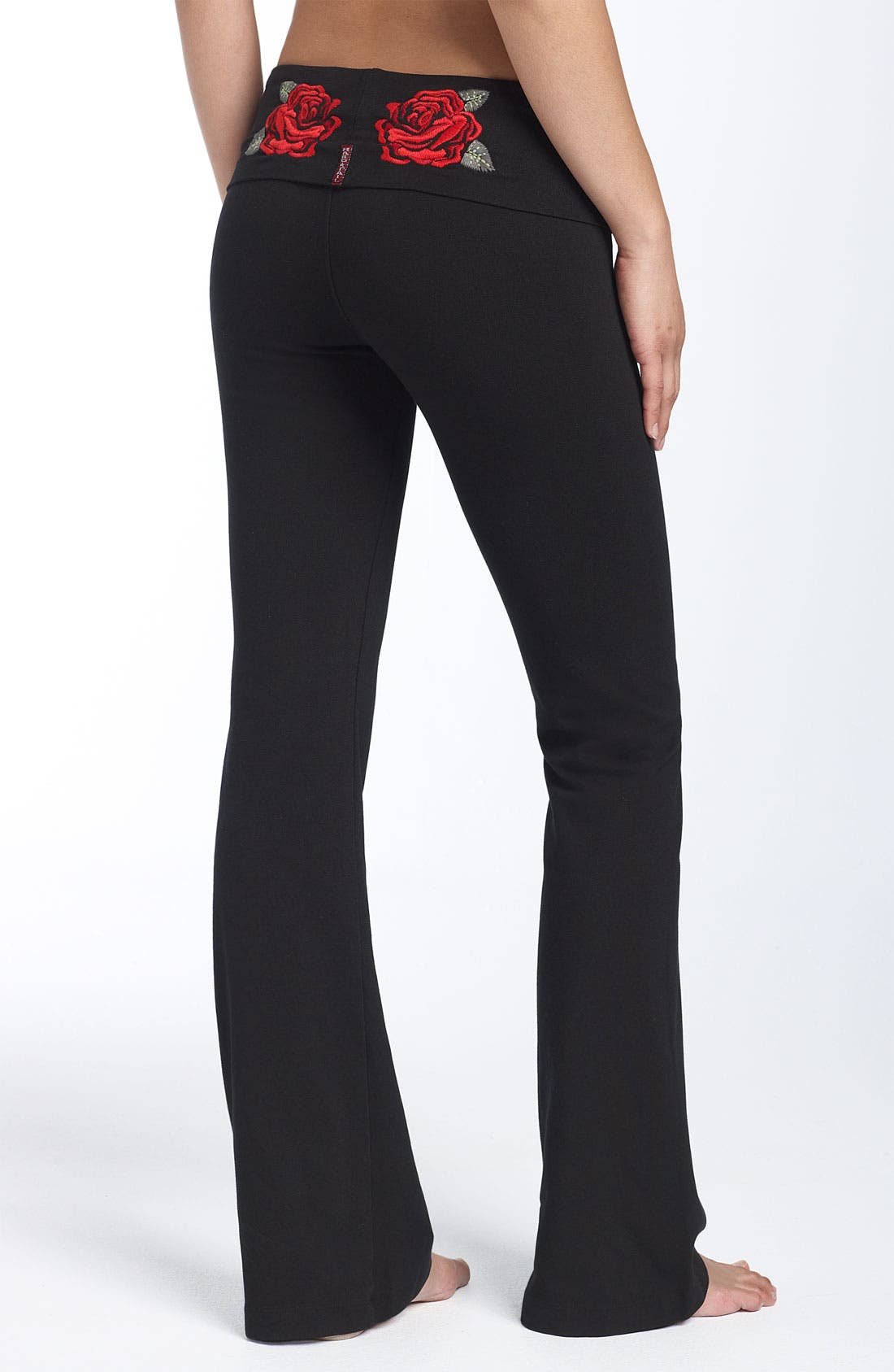 Alternate Image 1 Selected - Hard Tail Roll Waist Pants